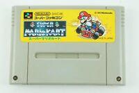 Super Mario Kart SNES Nintendo Super Famicom From Japan