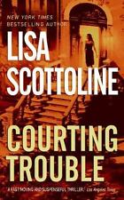 BUY 2 GET 1 FREE  Courting Trouble 7 by Lisa Scottoline (2003, Paperback)
