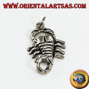 Silber Anhänger 925‰ Skorpion Durchschnitt