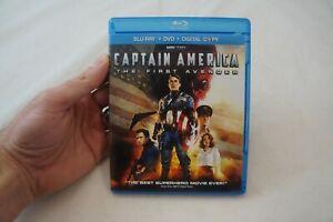 Captain America: The First Avenger W/O Slipcover (Blu-Ray/DVD, 2-Disc, 2011) #3