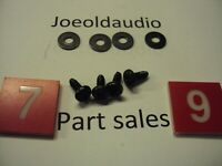 Onkyo TX-6500 MKii Case Screws & Washers. 4 Pieces. Parting Out TX-6500 MKii.