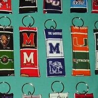 New NCAA College University School KEYCHAIN Key ring 70 teams to choose from 138