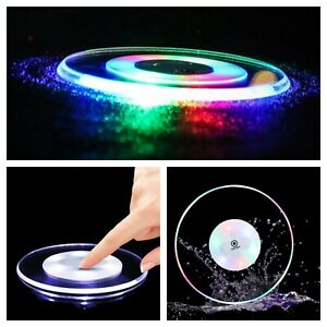 LED Light Up Coasters Beer Pub Coffee Table Party Place Mat Colour Changing x1