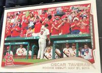 2014 Topps Update Oscar Taveras Rookie Debut #US-113 St. Louis Cardinals