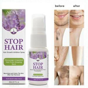 Permanent Stop Hair Growth Inhibitor Spray Painless Hair Removal for Men & Women