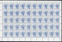 Berlin 50er Bogen MiNr. 337 postfrisch MNH Formnummer 1 (BW3312