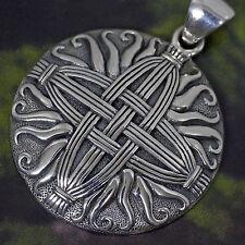 Peter Stone keltisches St Brigid Kreuz 925 Silber Schutzamulett NEUBEGINN SEGEN