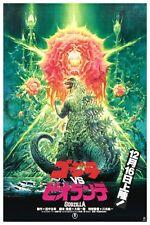 "JAPANESE MOVIE POSTER GODZILLA VS BIOLLANTE 12"" x 18"""