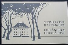 Finland 1982 Manor Houses Booklet. MNH