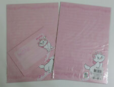Disney Marie Cat Stationery Envelop Stationary Lined Letter Set Music Piano Kitt