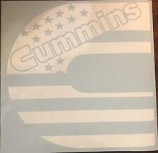 Cummins Flag Logo Decal