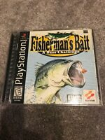 Fisherman's Bait (Sony PlayStation 1, 1999) Complete