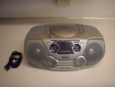 PHILLIPS CD Radio sound machine AZ1325 Boom box -TESTED,PET/SMOKE FREE HOME