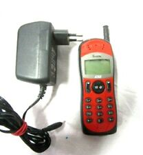 Mitsubishi MT 140 Astral  D2 S2 rot Handy Mobiltelefon mit Ladegerät