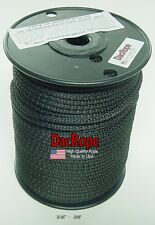 """250' 3/16"""" 100% Dacron Polyester Rope, Tents, Doomsday Prepper, Dipole Antenna"""