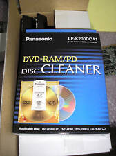 Panasonic LF-K200DCA1 DVD-RAM/PD Disc Cleaners - NEW!
