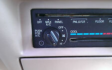 89-94 Ford Ranger Explorer FAN SWITCH KNOB Heater control truck AC