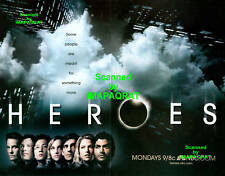HEROES: NBC Season 1: Excellent 2 pg Photo Print Ad