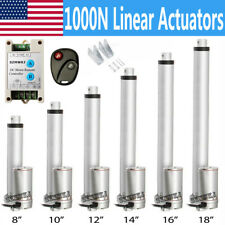 Dc 12v 14mms Linear Actuator 1000n Motor With Controller Switch Auto Door Lift Do