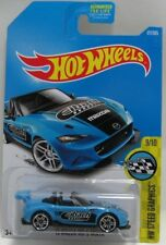 Hot Wheels HW Speed Graphics Blue '15 Mazda MX-5 Miata 9/10 3+ Mattel 177/365