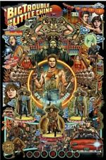 Big Trouble in Little China by Ise Ananphada Movie Poster Screen Print
