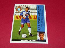 ISMAEL URZAIZ ESPANYOL BARCELONA PANINI LIGA 95-96 ESPANA 1995-1996 FOOTBALL
