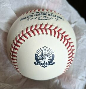 Rawlings Los Angeles Dodgers 1958-2018 60th Anniversary Logo Baseball NIB