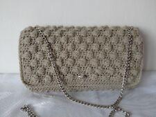 Women Handbag Wedding Party Prom Shoulder Evening Clutch Beige 3D Bag