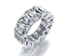 Eternity ring solid 925 sterling silver special cocktail party white right hand*
