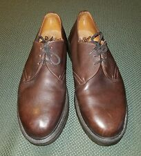 Dr Martens Shoes Made in England Size Men US 12 Brown 3 Eye Used
