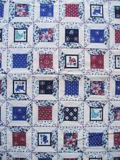 Vintage Cotton Quilt Fabric  Flowers BTHY