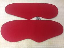 Red Tweed Door Panel Insert 1996-2000 Honda Civic EK JDM Coupe Hatchback MANUAL