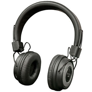 Wireless Bluetooth Over Ear Headphones with FM Tuner Micro SD Slot and 10m Range