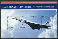 Bequia Gren St Vincent Concorde Stamps 2013 MNH 10th Anniv Final Flight 4v M/S