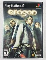 Eragon (Sony PlayStation 2 PS2 Black Label, 2006) Complete CIB - Free Shipping!