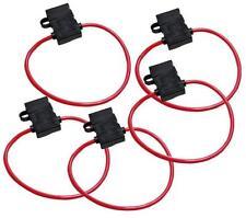 5x KFZ Sicherungshalter Flachsicherung  ATC ATO 3,5mm² 30A spritzwasserfest NEU