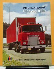 1968 1969 1970 International IHC Truck Model CO COF COT 4000 Sales Brochure