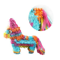 Pinata Rainbow Donkey Shape Toy Game Props Sugar Beat Children Toy Party Supply