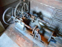 2) Antique Drill Presses