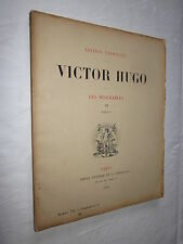 LES MISERABLES VICTOR HUGO EDITIONS NATIONALE 1890