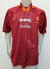MAGLIA CALCIO SHIRT ROMA 1995/1996 TAG.L FOOTBALL ITALY SOCCER MAILLOT HOME I1