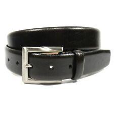 TRAFALGAR Men's Dress Belt Genuine Leather Made in Italy Brown Size 36