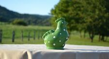 Temp-tations Polka Dot Figural Chicken - Green