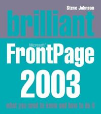Brilliant Frontpage 2003,Mr Steve Johnson