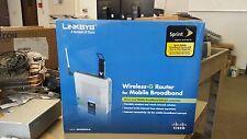 Linksys WRT54G3GV2-ST 4-Port Mobile Wireless 3G WIFI Network Router Sprint