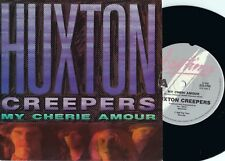 Huxton Creepers ORIG OZ PS 45 My cherie amour EX '86 Bigtime BTS1706 Alt Rock