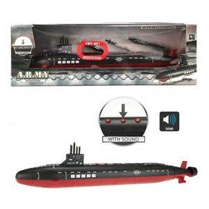 Toy Army Submarine With Accessories Lights And Sound Boys