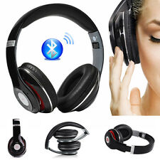 Noise Cancelling Wireless Bluetooth Headset Headphones for Smartphones Tablet PC