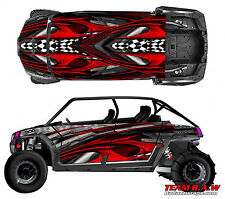Polaris 4 RZR 900 xp Design Geneses Decal Graphic Kit Wraps Hood Scoop