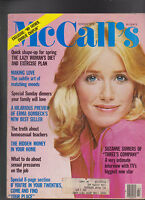 McCall's Magazine Suzanne Somers Charlie Chaplin  March 1978